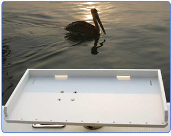From your transom to your dock birdsall has the clean for Dock fish cleaning station