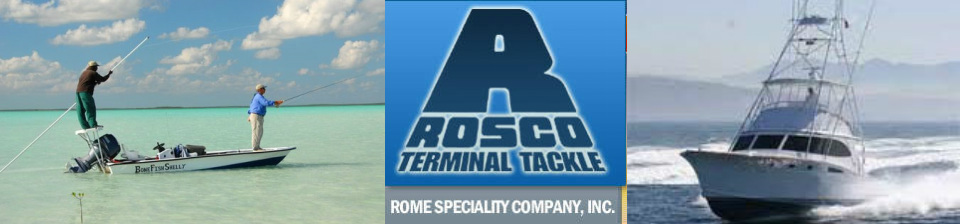Rosco Terminal Tackle - swivels, snaps, snap swivels